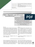 Colera, Indifnación y Goce Del Encastre