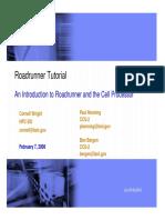 Roadrunner Tutorial Session 1 Web1