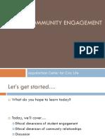 ethical community engagement