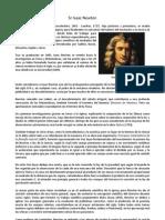 Sr Isaac Newton y Sus Leyes
