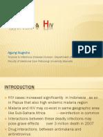 Malaria & HIV.pptx