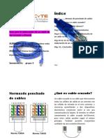 MANUAL DE CABLE CRUZADO Y RECTO