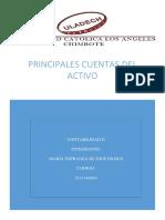 Principales Cuentas Del Activo