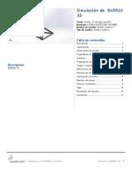 Barras 3d- Ventana-Análisis Estático 1-2