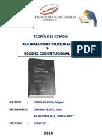 Reseñas Históricas de La Constitución Política del Perú