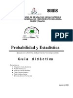Antología de Probabilidad y Estadística modificada