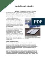 Fuentes de Energia Eléctrica