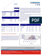 Analysis on Derivative Trading by Mansukh Investment & Trading Solutions 23 Aug,2010
