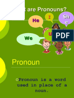 Pronouns Prestation