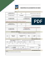 Registro de Incidente