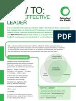72 Effective Leader