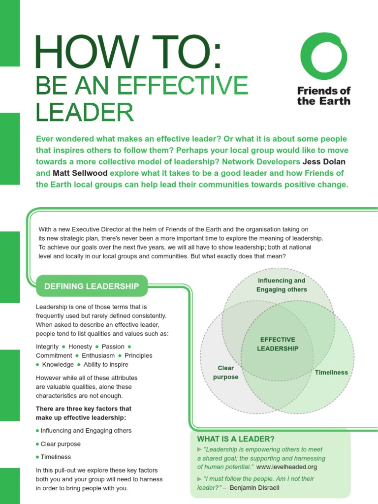 what makes up a leader