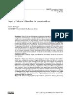 Julián Ferreyra, Hegel y Deleuze, Filosofías de La Naturaleza
