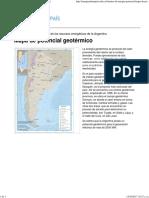 Mapa de Potencial Geotérmico - Energías de Mi País
