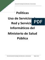 Política Uso de Servicios de Red