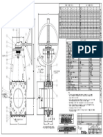 Dimensions and part list PTA Valves