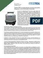 FRIOTEK - INFORME TECNICO - Torres de Enfriamiento para agua.pdf