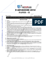 JEE Adv Previous Year Paper 2014 P2 EzyEXAMSolution