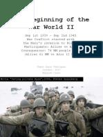 The Beginning of the War World II (WWII)