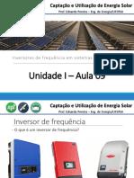 Unidade I - Aula 09 - Inversores de Frequência
