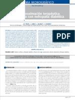 Una Apriximacion Terapeutica a La Nefropatia Diabetica