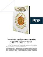 Amuletos Talismanes Para Cada Signo Del Zodiaco 190807 v1