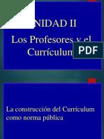 Elcurriculum UNIDAD 3