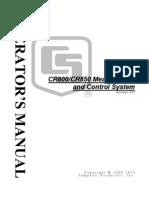 Cr800 Manual