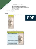 Actividad Análisis de Datos Cualitativos