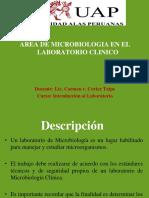 Area de Microbiologia