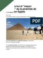 Sale a La Luz El Secreto de Las Piramides