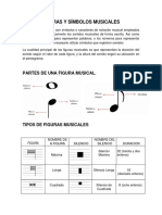 Figuras y Símbolos Musicales