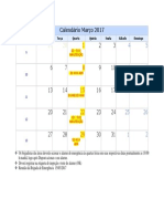 3- Calendario MArço