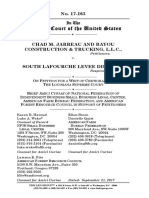 Brief Amici Curiae of NFIB, American Farm Bureau Federation, and American Forest Resource Council in Support of Petitioners, Jarreau v. S. LaFourche Levee District, No. 17-163 (Sep. 21, 2017)