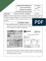 Manual de Registro de Cheques Devueltos en Jdel