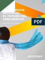 Accenture Inteligencia Artificial El Futuro Del Crecimiento Esp