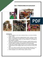 Costumbres y Tradiciones de Gualaceo