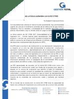 20170904 Construyendo Un Futuro Sostenible Con La ISO 21930