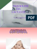 PRESENTACION BRONQUIOLITIS