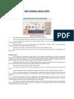 Data Validation Option (DVO) Architecture
