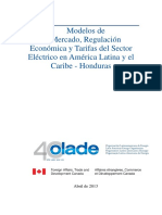 Informe Final Honduras OLADE