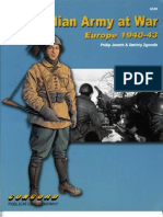 Concord 6520. the Italian Army at War. Europe 1940-43