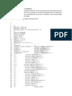 Cómo Configurar Flex en Windows