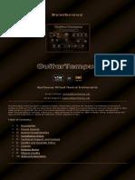 GuitarTempus Virtual Guitar VST VST3 Audio Unit EXS24 + KONTAKT
