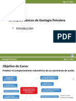 Principios Basicos de Geologia