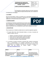 TI-G01 Guía Para El Reporte de Incidentes v1