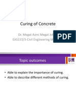 EAS153_Curing of Concrete