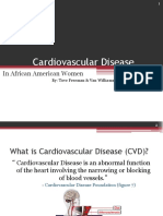 Cardiovascular Disease in African American Women