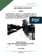 Alcantarillado Sanitario Veracruz, Sinuapa