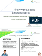 Marketing y Ventas Para Emprendedores